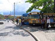 bus station in La Ceiba